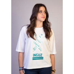 "Camiseta piqué ""INDESCRIPTIBLE"""
